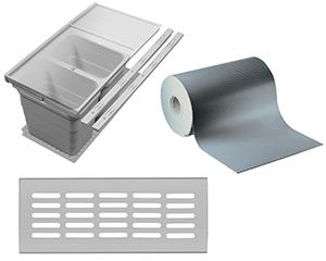Beschlagsysteme für Küchen
