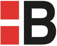 EUROBAT Einsteckschloss Bad/WC Klasse 1 Falle/Riegel Kunststoff