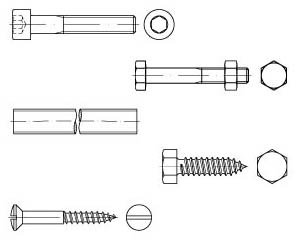 DIN | ISO Schrauben | Gewindestangen | Blechschrauben