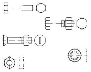 Stahlbau-Schrauben | Stahlbau-Muttern | Zubehör